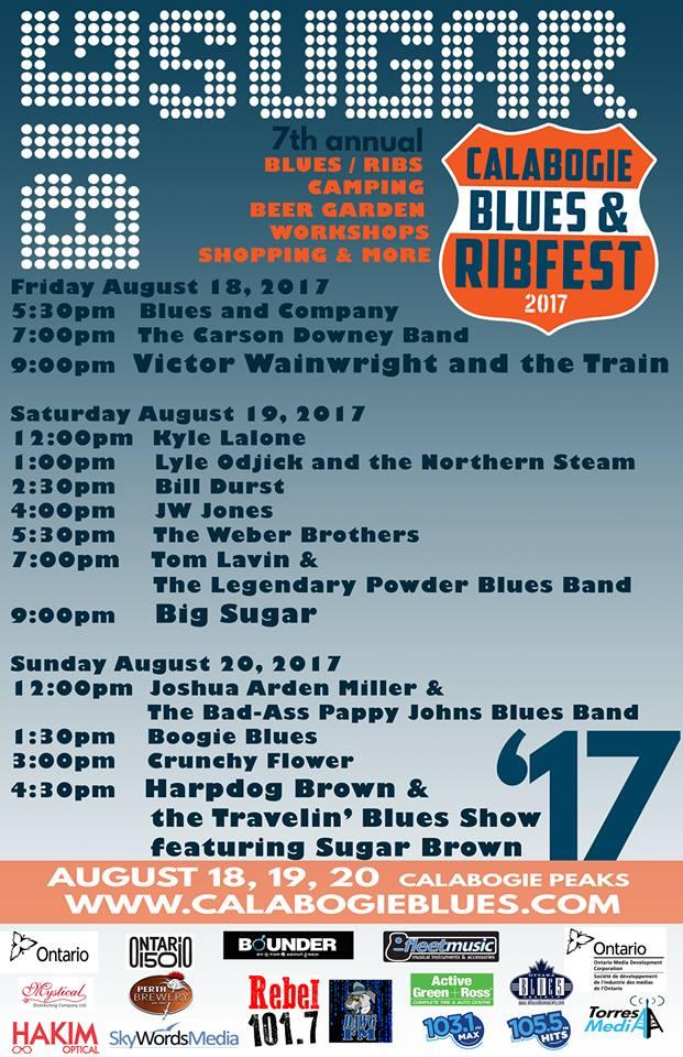 Calabogie Blues & Ribfest 2017