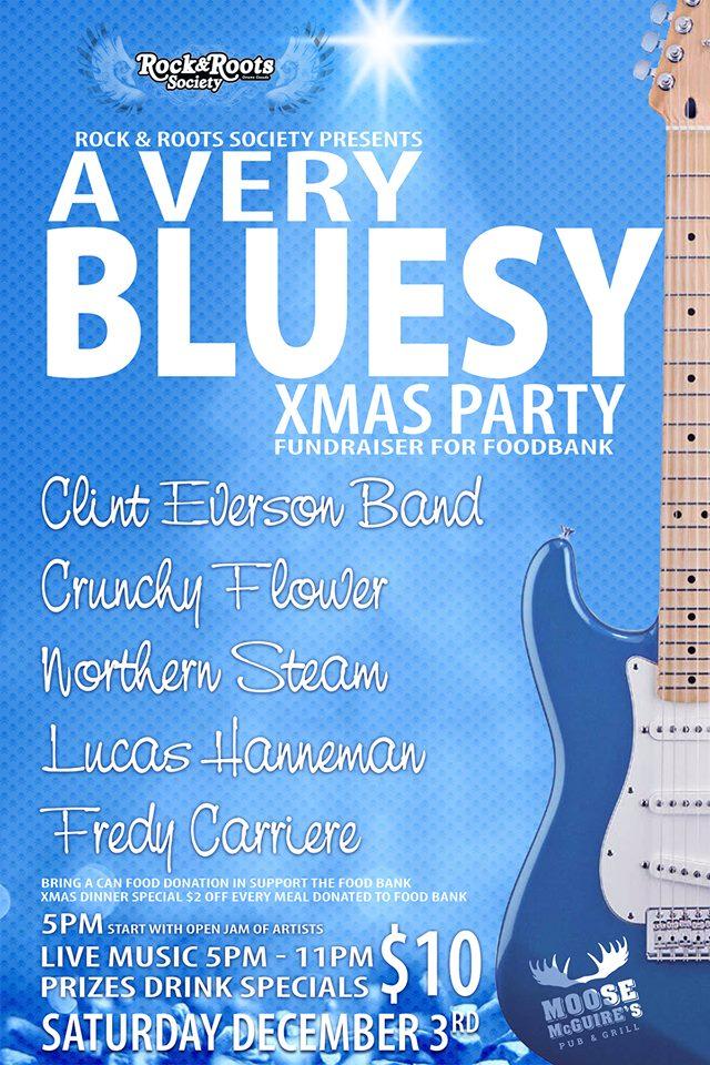 Ottawa Rock & Roots' A Very Bluesy X-Mas Party